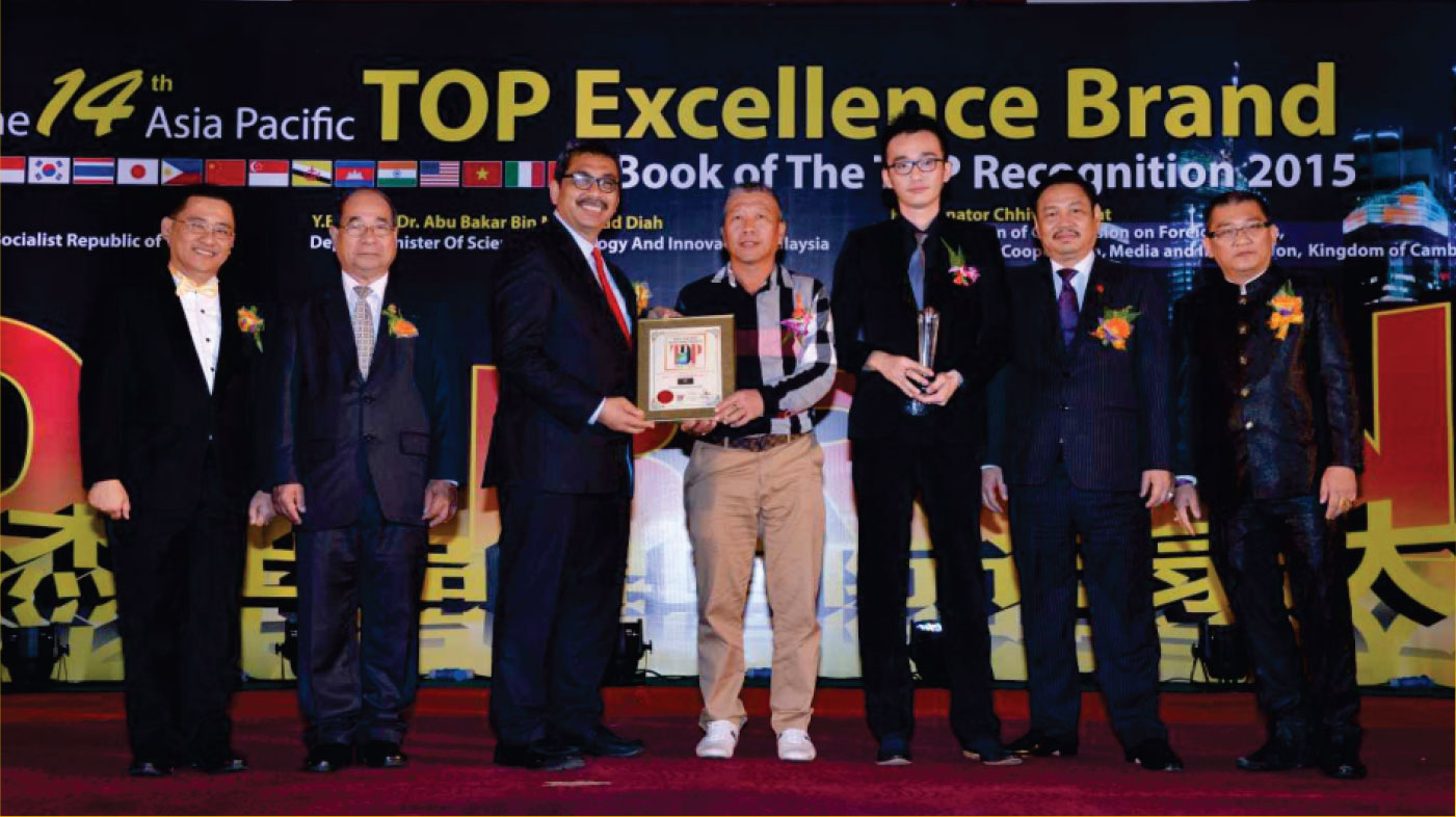 2015 Asia Pacific Top Golden Brand Products Award - Interlight Technology's Solutions As A Supplier for LED Displays in Malaysia