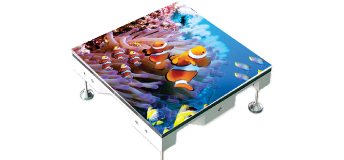 Floor LED Display by Interlight Technology - LED Display Supplier in Malaysia