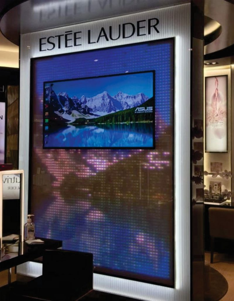 LED Display Supplier for Estee Lauder Malaysia
