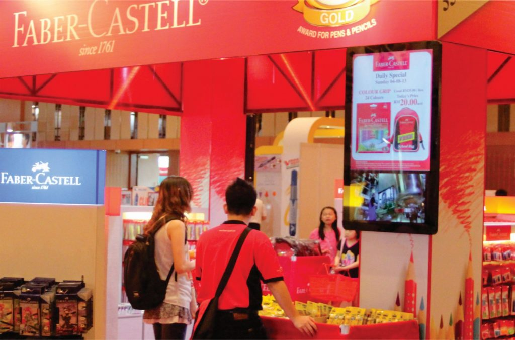 Interlight Technology - Digital Signage Manufacturer for Castell Malaysia Advertising