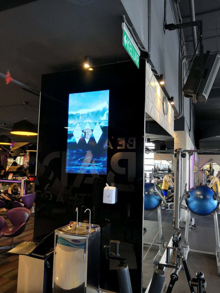 Digital Signage Manufacturer for Gyms Malaysia