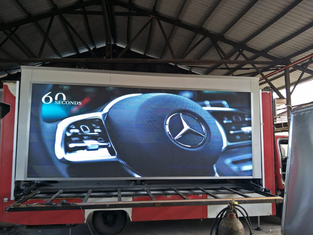 LED Truck For Mercedes Malaysia