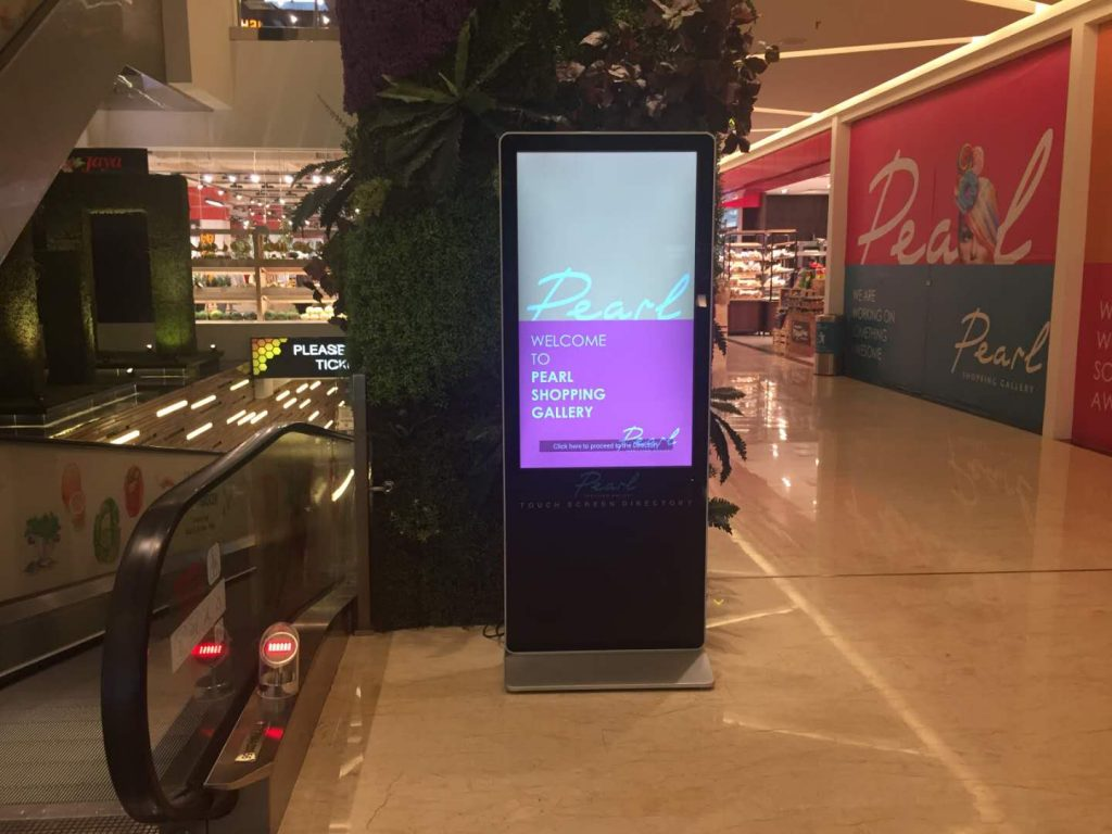 Interlight Technology - Digital Signage Manufacturer for Pearl Shopping Mall Malaysia