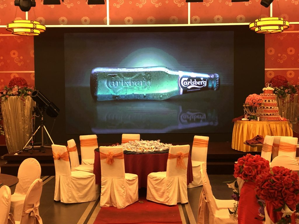 Indoor LED Supplier for Carlsberg Malaysia