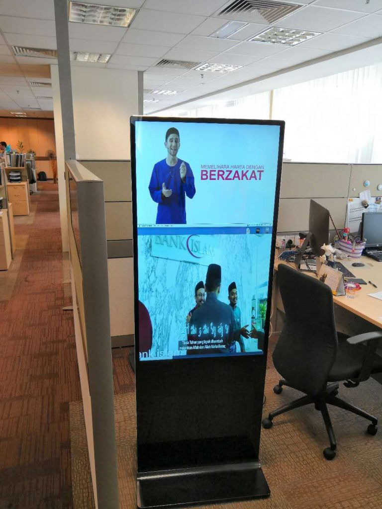 Digital Signage Manufacturer for Offices in Malaysia
