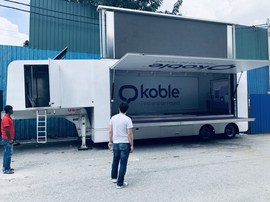 LED Truck For Koble Malaysia