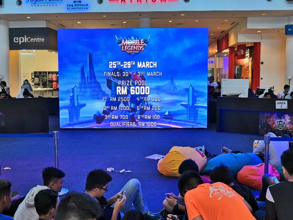 Malaysian Indoor LED Supplier for Major Events i.e. Mobile Legends Tournament