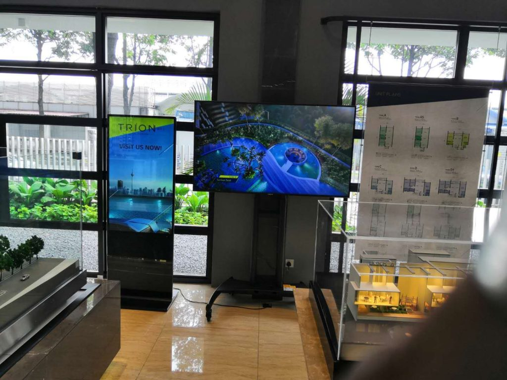 Interactive Digital LED Signage Supplier for TRION Malaysia