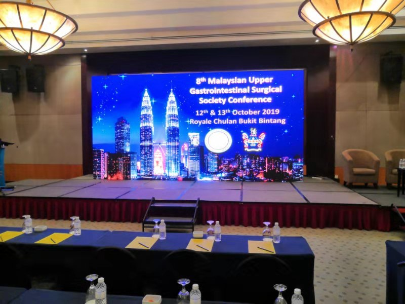 LED Supplier for 8th Malaysian Upper Gastrointestinal Surgical Society Conference 2019