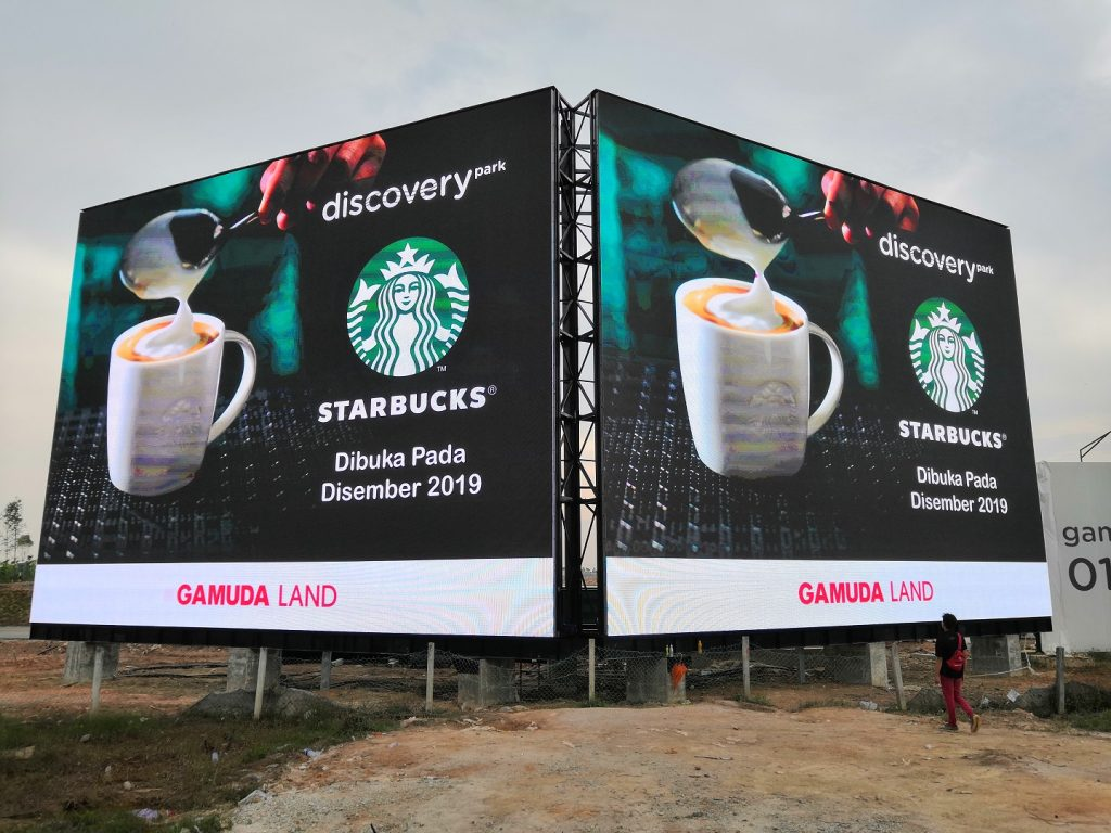 Outdoor LED Supplier for Starbucks Malaysia