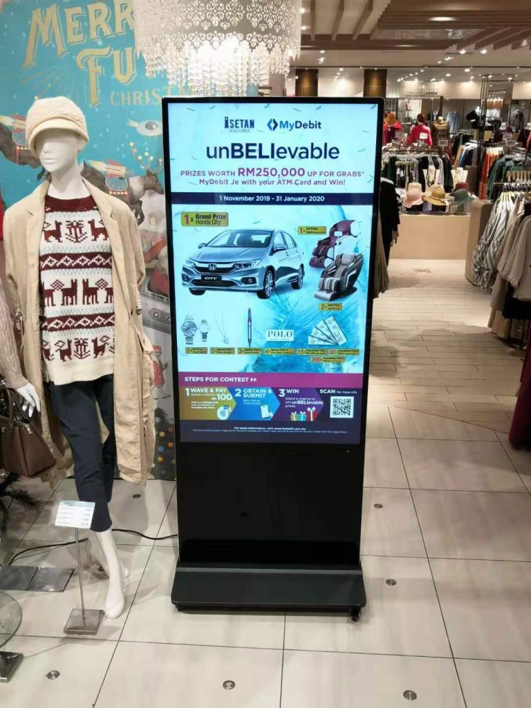 Shopping Mall LED Digital Signage Manufacturer in Malaysia